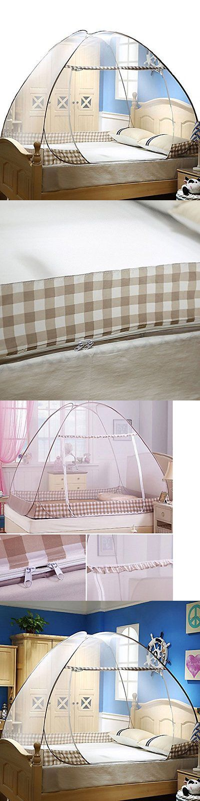 Canopies and Netting 180905: Folding Mosquito Net Tent Canopy Curtains For Beds Home Bedroom Decor 1.8X2.0M C -> BUY IT NOW ONLY: $47.14 on eBay!