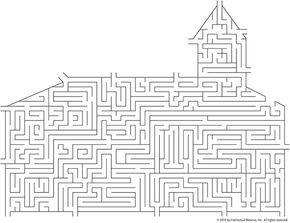 Chapel Maze (on lds.org)