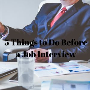 Job interviews are absolutely nerve-wracking. But while there is no way to escape them, you can help make things easier by following these five simple tips: Check out the location of your interview the day before- My first job interview was at a place that was really difficult to find. However I made my dad …