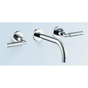 Taron™ 104 Bathroom Faucet - Polished Chrome or Brushed Nickel