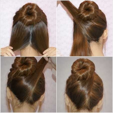 Perfect bun #hairstyle