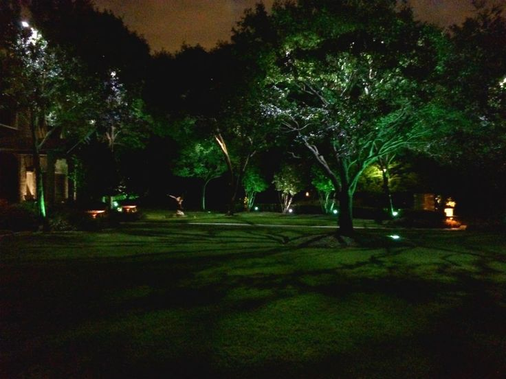 46 best moonlighting installations by dallas landscape lighting dallaslandscapelighting installs tree lighting in a way that creates a moonlighting effect mozeypictures Images
