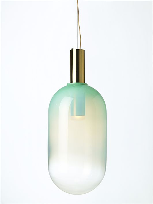PHENOMENA Mint Green by Dechem studio #bomma #bommalighting #crystal #mouthblown #design #czechdesign #lighting #pendant #czechrepublic #crystallighting #designlighting #glassdesign #lightdesign #lightingdesign