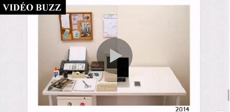20 minutes - L évolution de notre bureau  http://www.20min.ch/ro/multimedia/videostory/story/L-evolution-de-notre-bureau-23152687