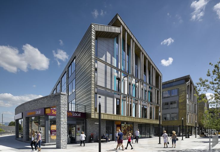 Keynsham Town Hall with Krone Composite windows by venturi UK (photo by AHR)