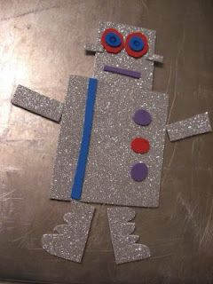 Robot Craft For Kids | No Time For Flash Cards - Play and Learning Activities For Babies, Toddlers and Kids