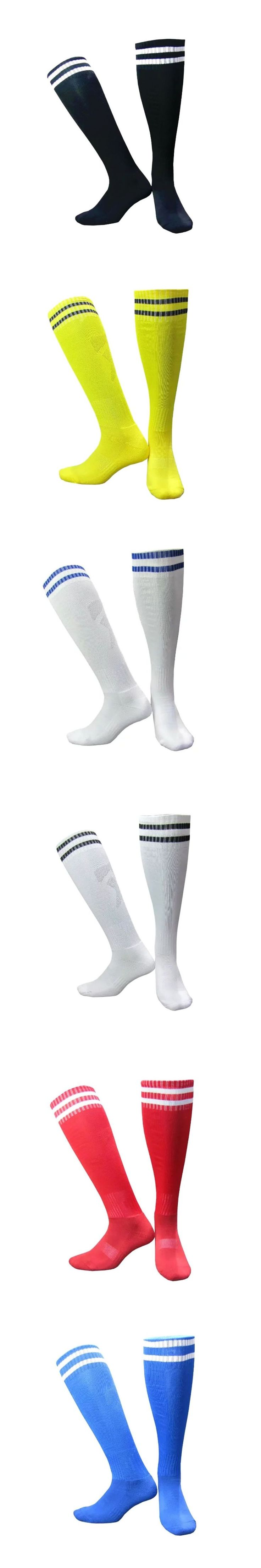 Man Compression Socks Tube Knee Striped Socks Over Knee High Sock Soft Leg Support Stretch Breathable Sock