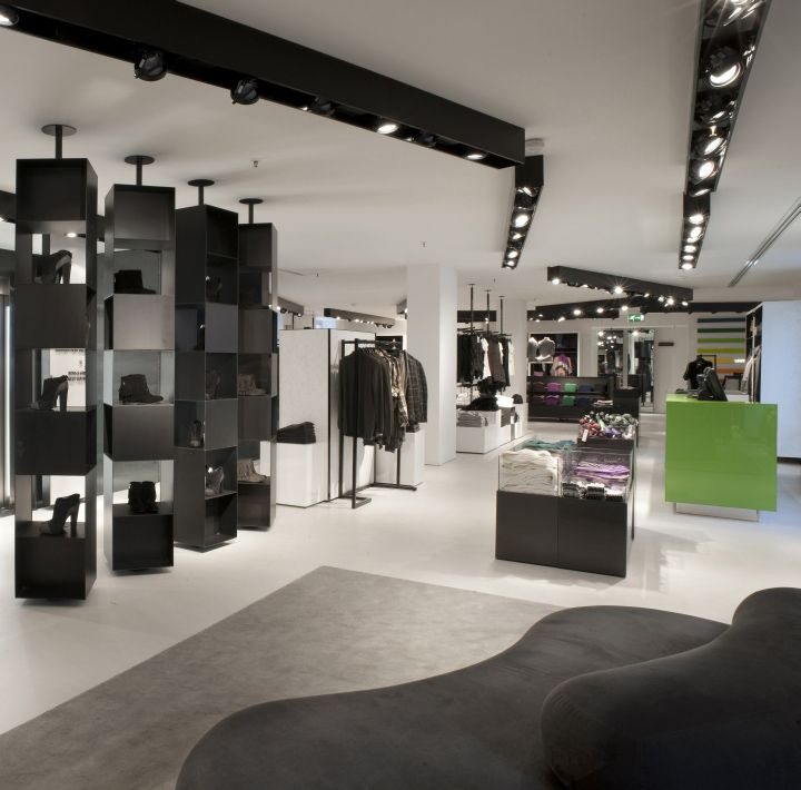 Retail Design Ideas find this pin and more on retail design Benetton Flagship Store By Piero Lissoni Milan Fashion