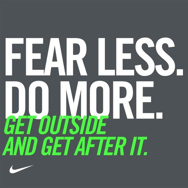 The day awaits. Are you ready to get after it? #motivation #nike