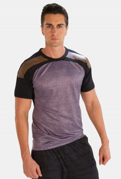 Tri Colored Half Sleeve #T Shirts for #Men