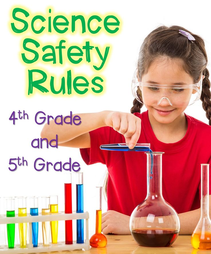 Science safety rules are so important! Click on this picture to read my 5 Science Safety Rules that I use in my classroom!