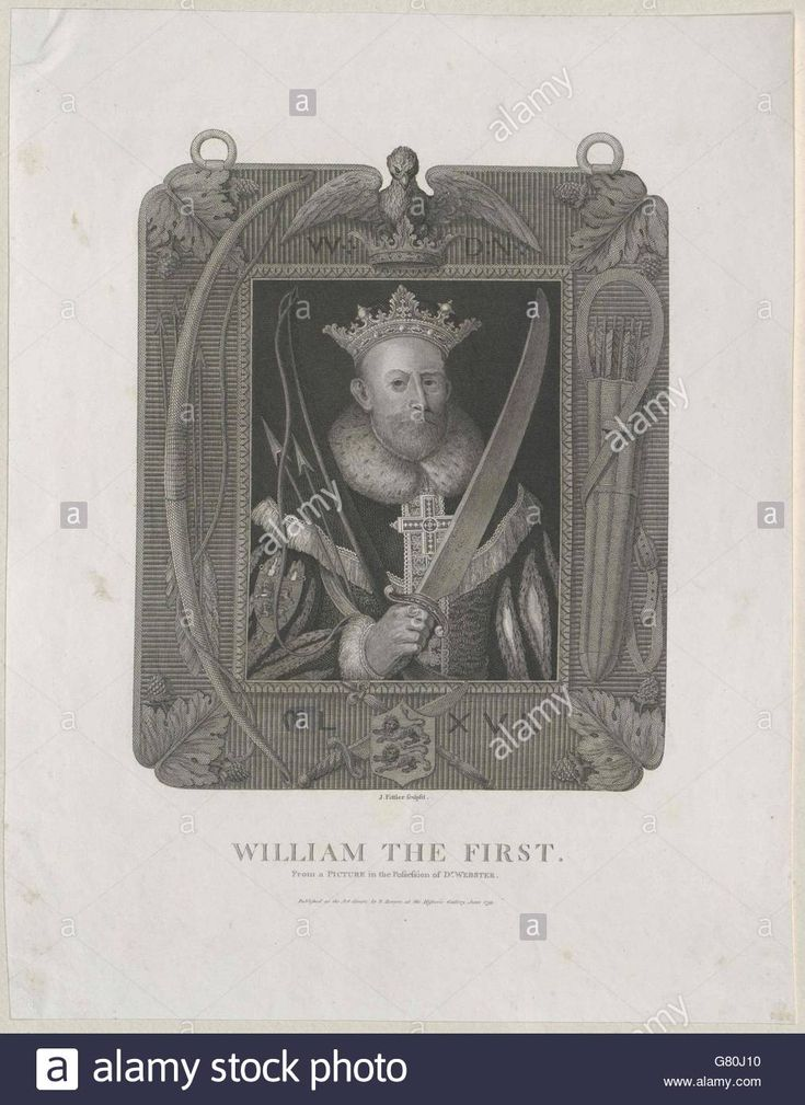 Download this stock image: Wilhelm I., der Eroberer König von England - G80J10 from Alamy's library of millions of high resolution stock photos, illustrations and vectors.