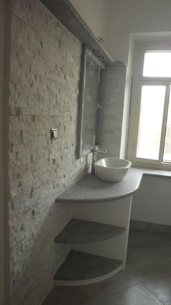 Le 25 migliori idee su mensola da arredamento per bagno su - Bagno marmo bianco ...