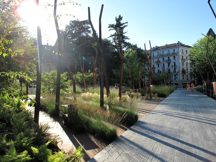 Floorworks, Urban garden in Geneva by Agence Ter landscape architecture