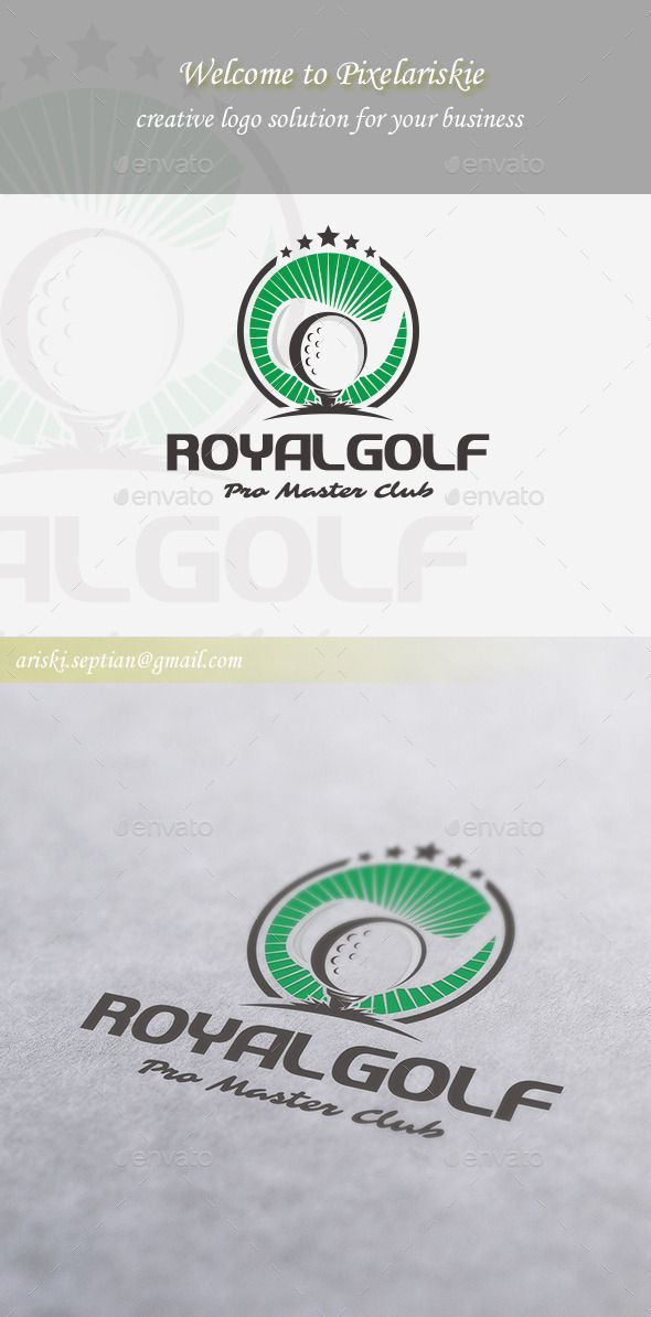 Master Golf Logo Template Vector EPS, AI. Download here: http://graphicriver.net/item/master-golf-logo-/11256315?ref=ksioks