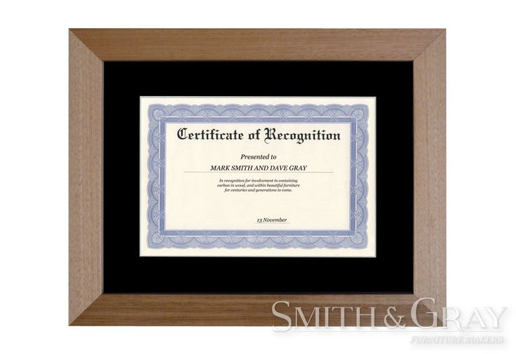 Custom made timber certificate degree and award frames - See more at: www.smithandgray.com.au