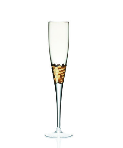 Kim Seybert Paillette Gold Flute - Set of Four: Gold Champagne, Gift, Gold Flutes, Years, Seybert Paillette, Champagne Flute