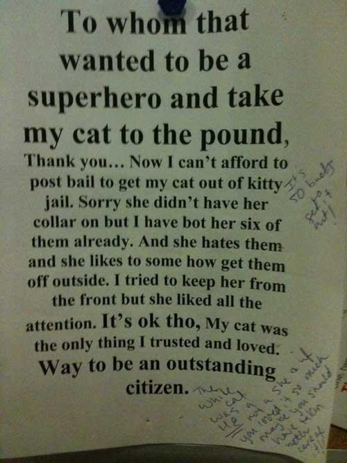 Hilarious neighbor notes... Lol haha!!  – 9 pics  (Check Out All Photos)