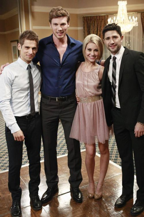 """Exactly ONE WEEK to go to the premiere of Season 2 of Baby Daddy — with Matt Dallas guest starring as Fitch Douglas. Make a date with ABC Family on May 29th, 8.30/7.30c for episode 1: """"I'm Not That Guy""""… MDW main site.Twitter.Facebook Page.YouTube Channel.Pinterest (Photo: ABC Family)"""