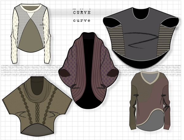 CAD sketches by Adina Carkhum, via Behance