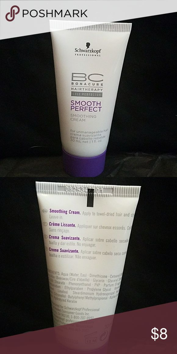 Schwarzkopf Hair Smoothing Cream Used once and then decided to stick with my regular smoothing cream Makeup