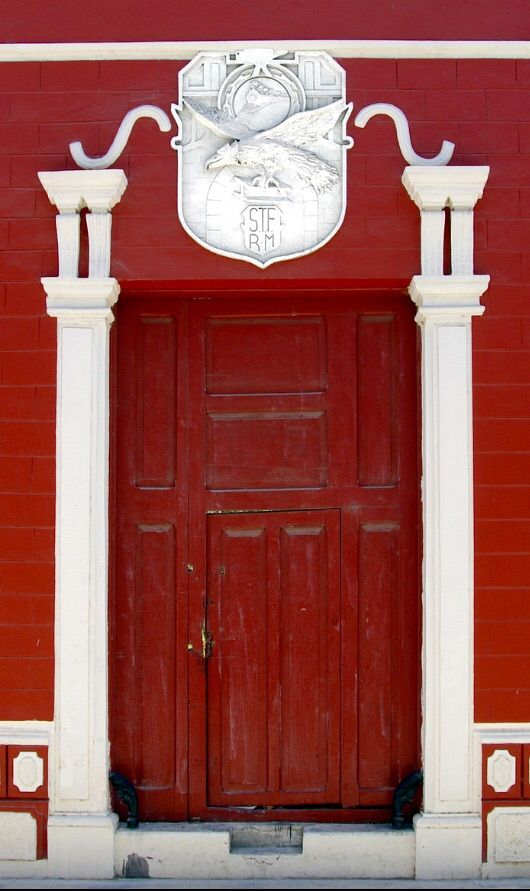 Campeche, Mexico #myobsessionwithreddoors