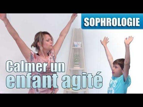 Un exercice de sophrologie dynamique pour calmer un enfant agité