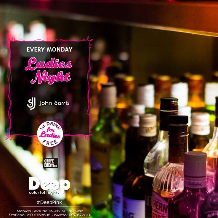 #DeepPink #MondayNights #LadiesNights