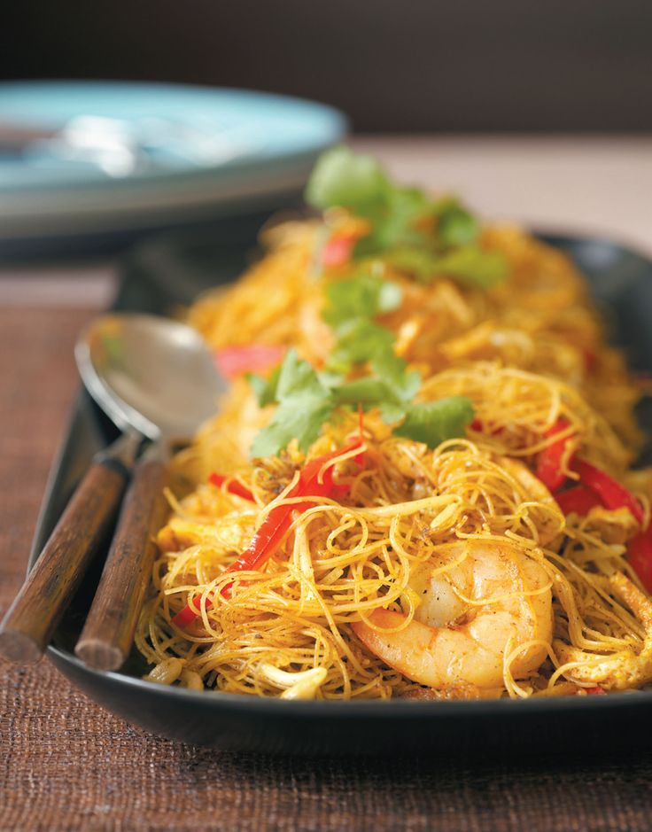 Singapore noodles recipe from Margaret Fulton Favourites by Margaret Fulton | Cooked