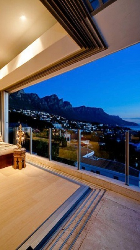with a view of Cape Town