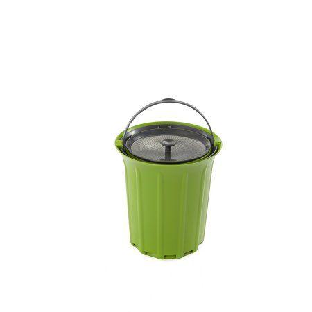 Full Circle Breeze Odor Free Countertop Compost Collector Green