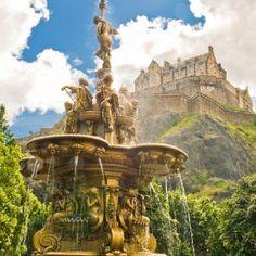 castle in scotland - Google Search
