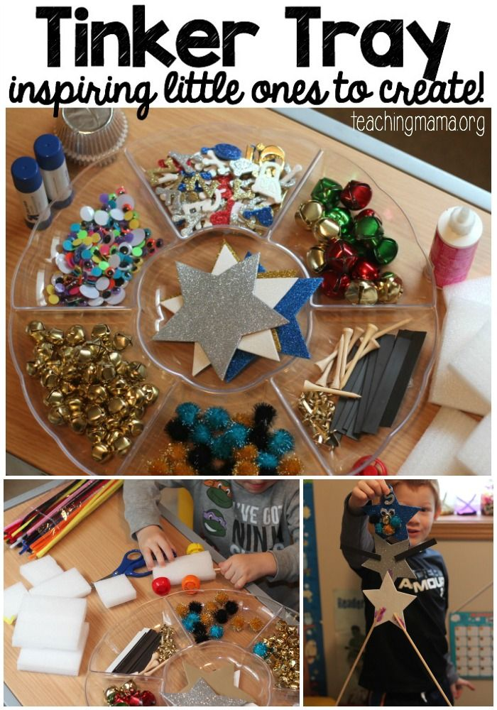 Tinker Tray – Inspiring Little Ones to Create!