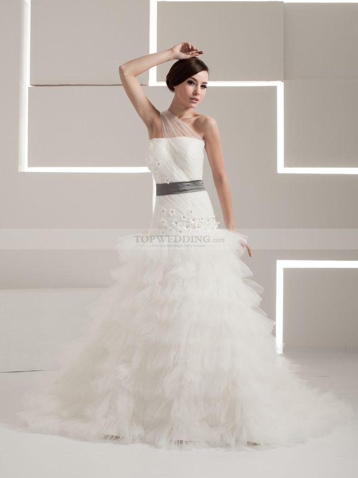 Percilla - Бальное платье Атласная свадебном платье с Отделка бисером