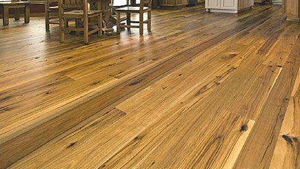 Hickory Flooring Review   Solid & Engineered Hickory Floor Ideas   The Kitchen Blog