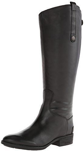 Sam Edelman Womens Penny 2 Wide Shaft Riding Boot Black 9 M US >>> You can get additional details at the image link.