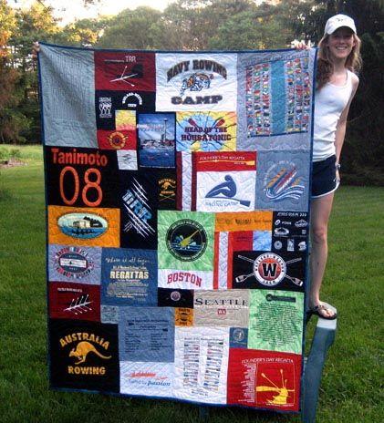 LOVE this tshirt quilt.