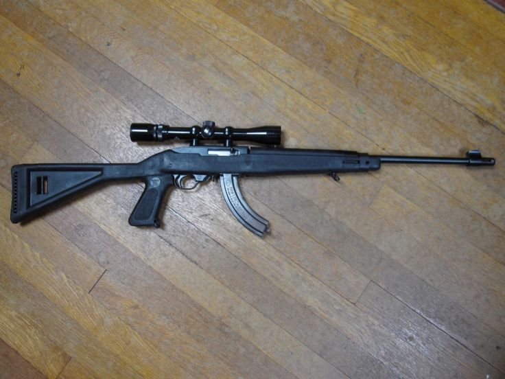 ruger 10/22 with a choate stock