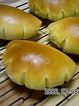 ★HBで作る★カスタードクリームパン custard cream bread