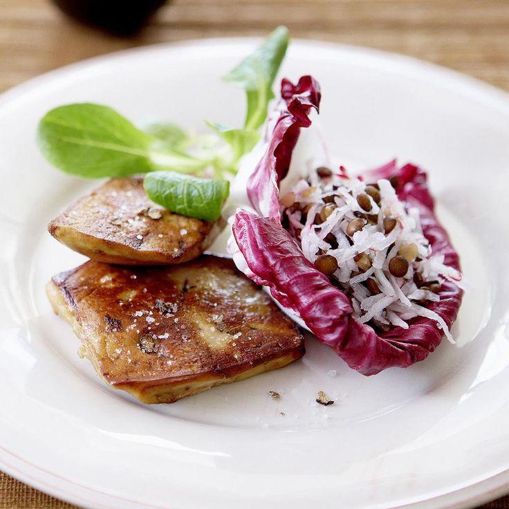 Financiers salés aux champignons et à la truffe - une recette Fête - Cuisine | Le Figaro Madame