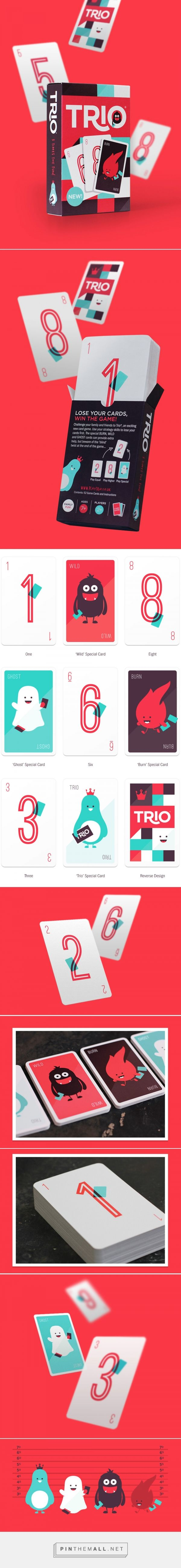 Trio Card Game — The Dieline - Branding & Packaging Design http://www.thedieline.com/blog/2014/2/4/trio-card