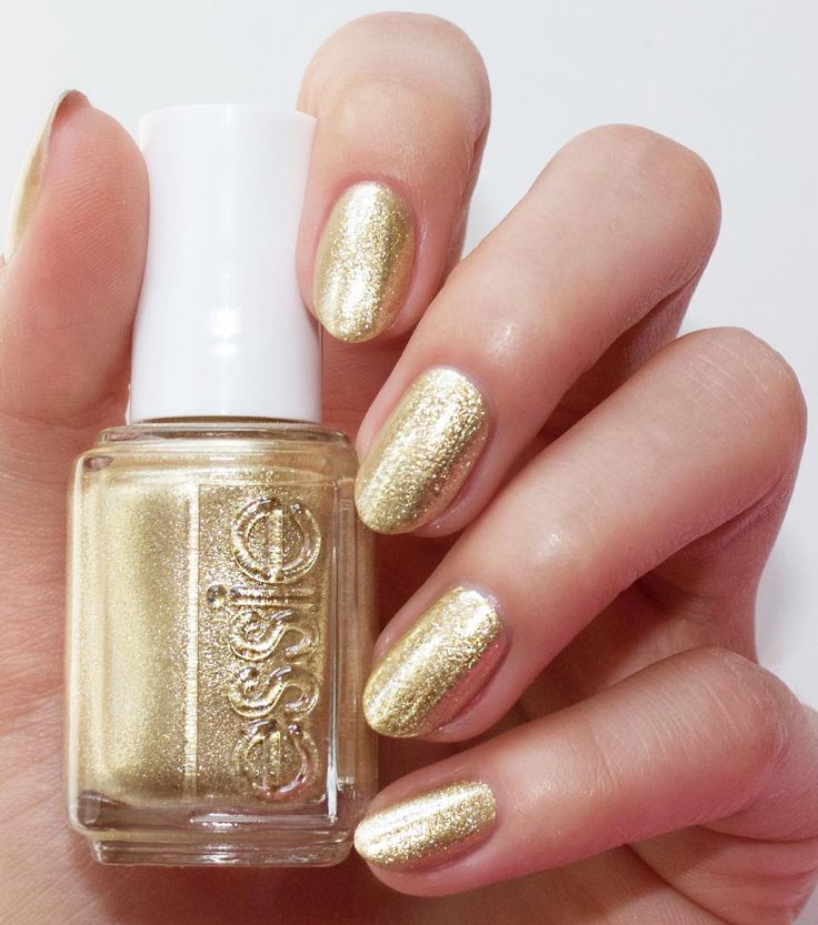 The star of the essie winter collection is definitely sparkling metallic gold palladium 'getting groovy' . With a mani so blingy you shake your groove thing all night long. Shop this winter shade: http://www.essie.com/Colors/metallics/getting-groovy.aspx