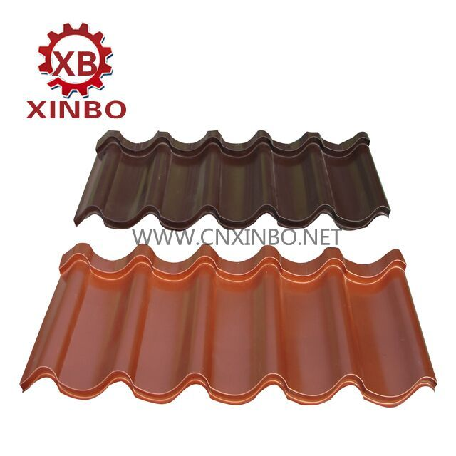 Glazedtilerollformingmachine Metal Panel Machine Can Be Used To Produce Color Steel Roof Tile Board Corru Glazed Tiles Roll Forming Corrugated Wall
