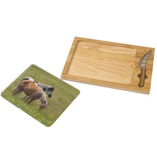 Horses of the West by Janz Icon Cheese Board
