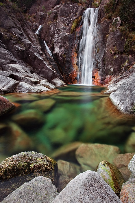 Rock pools in Geres national park