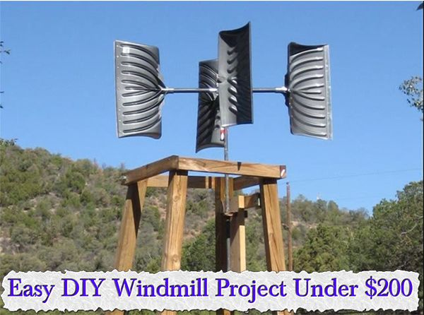 Easy DIY Windmill Project Under $200