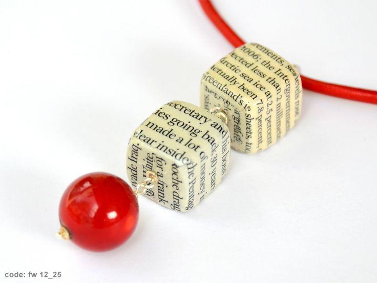 Fall / Winter 2012 – 2013 - Handmade paper jewelry