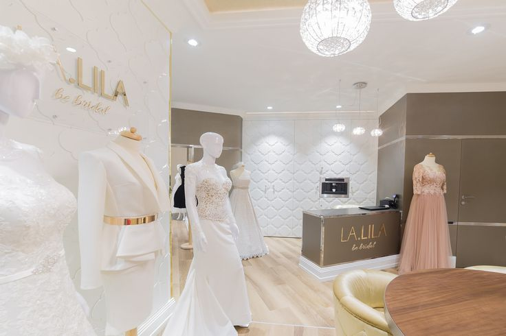 Wedding dresses salon. Project by Joanna SAFRANOW