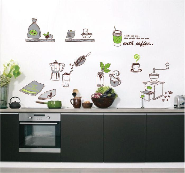 Jual Alat Dapur Rumah Tangga - Stiker Dinding / Wall Sticker - Ahma Stiker | Tokopedia