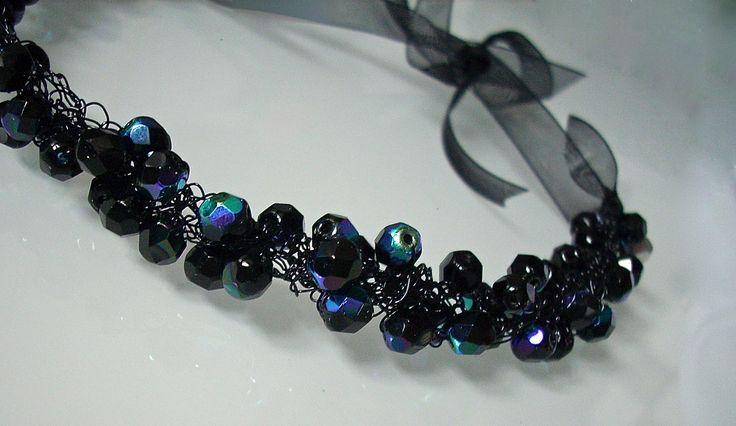 Particolare Necklace BLACK METAL